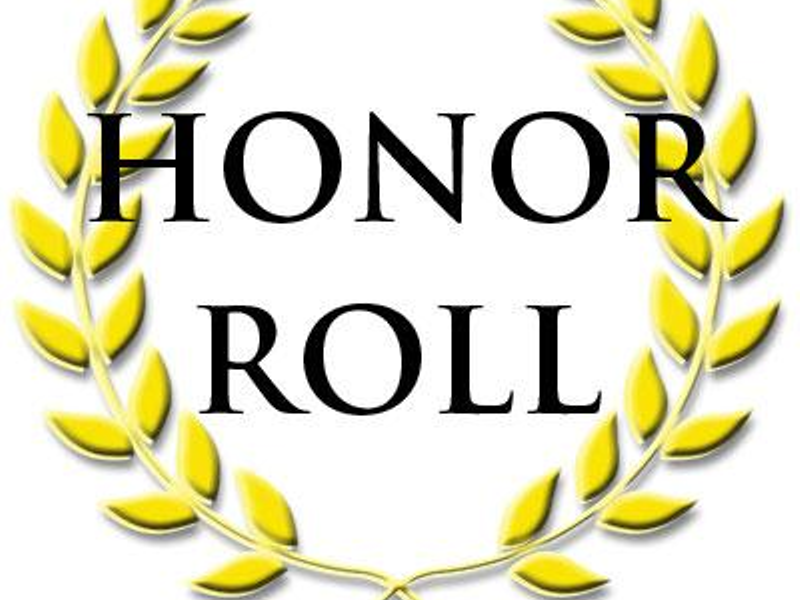 1st Trimester Honor Roll-Middle/High School