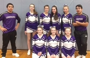 "So. Aroostook Cheerleaders earn ""Spirit Award"" at Cheering Competition"
