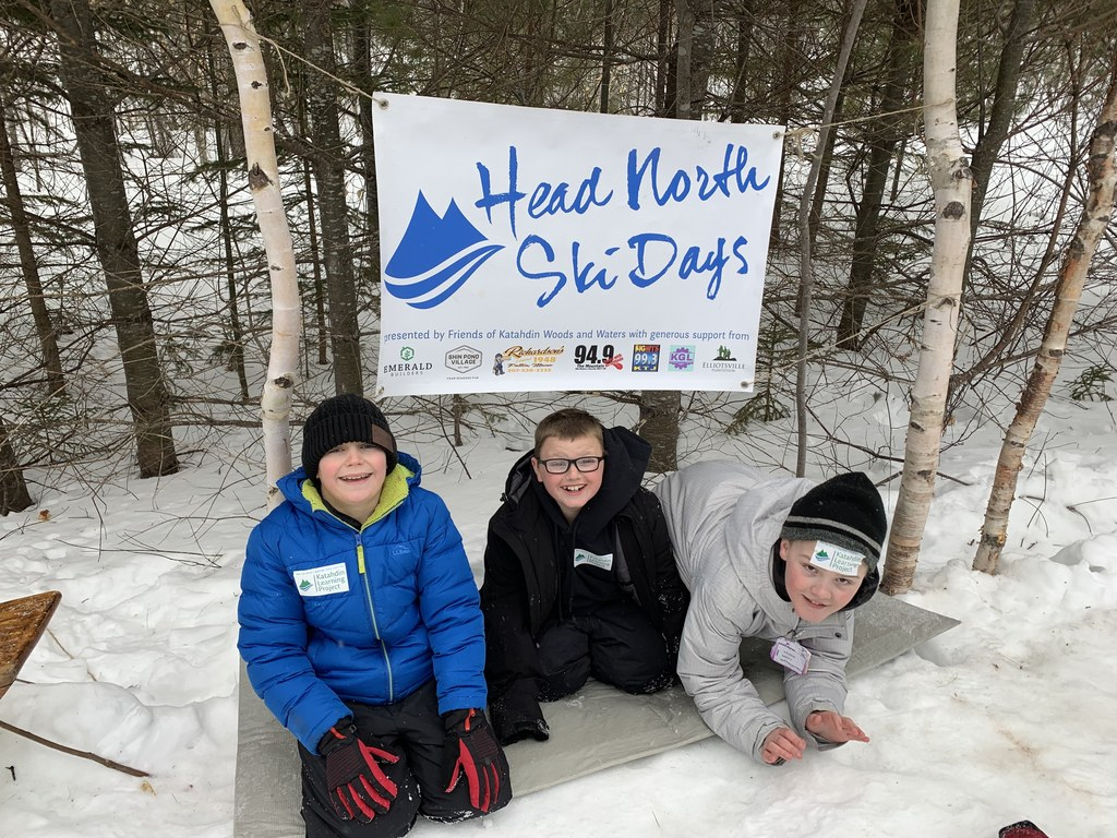 SACS students at Katahdin Woods & Water
