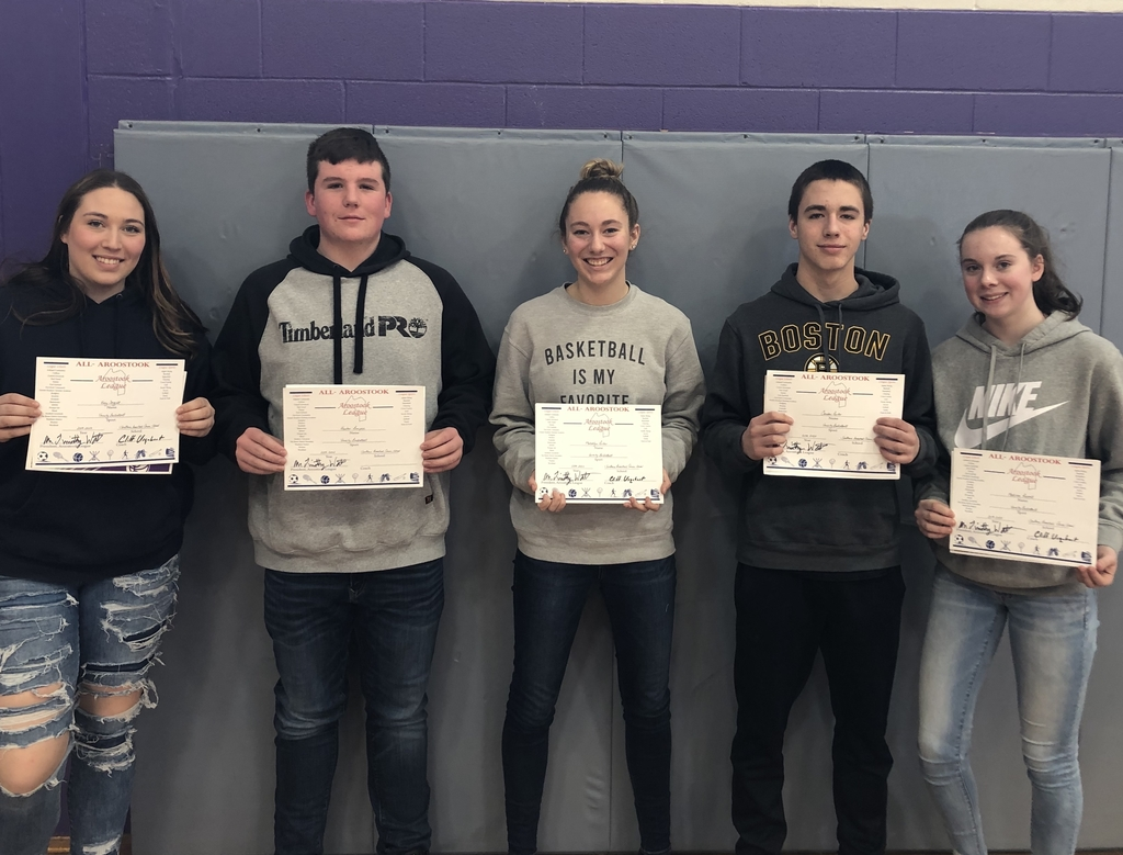 So. Aroostook students being honored with All-Aroostook awards
