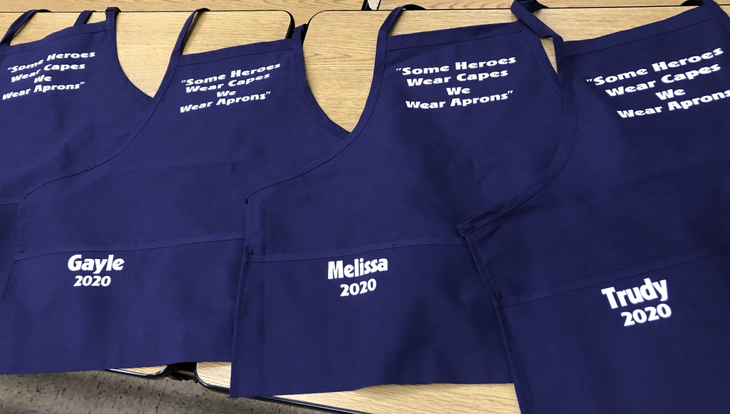 School Lunch Heroes Apron