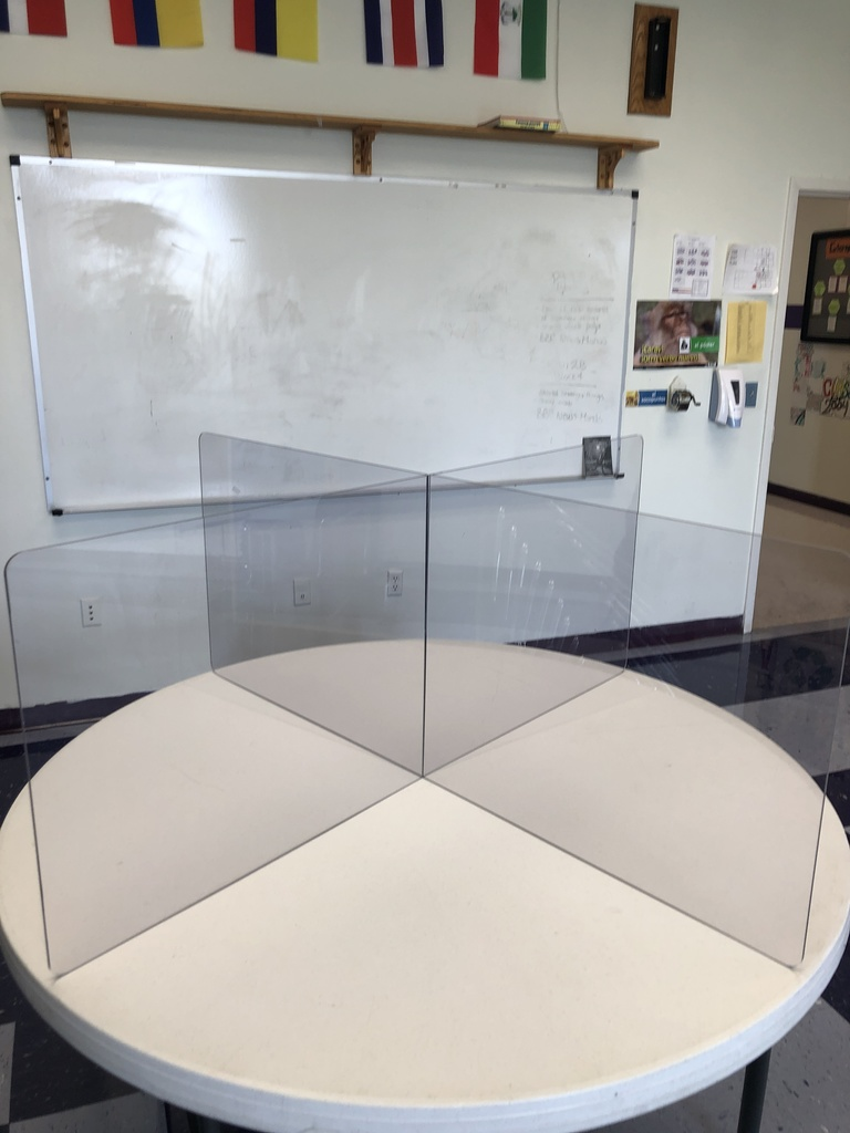 Table dividers for social distancing